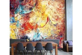 3D Artistic Bright Paint 65 Wall Murals Wallpaper Murals Woven paper (need glue), XL 208cm x 146cm (WxH)(82''x58'')