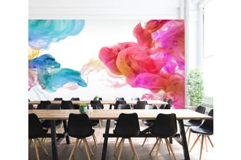 3D Colourful Smoke 028 Wall Murals Wallpaper Murals Woven paper (need glue), XXL 312cm x 219cm (WxH)(123''x87'')