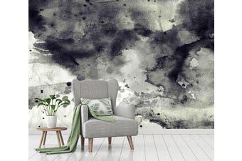 3D Black & White Ink 023 Wall Murals Wallpaper Murals Self-adhesive Vinyl, XXXXL 520cm x 290cm (WxH)(205''x114'')