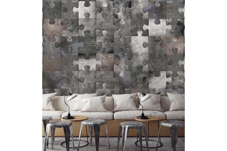 3D Pattern Puzzle 0521 Wall Murals Wallpaper Murals Woven paper (need glue), XXL 312cm x 219cm (WxH)(123''x87'')