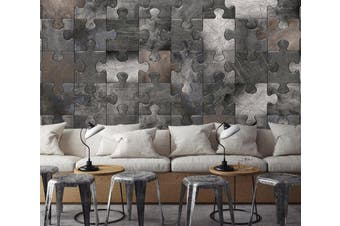 3D Pattern Puzzle 0521 Wall Murals Wallpaper Murals Woven paper (need glue), XXXL 416cm x 254cm (WxH)(164''x100'')