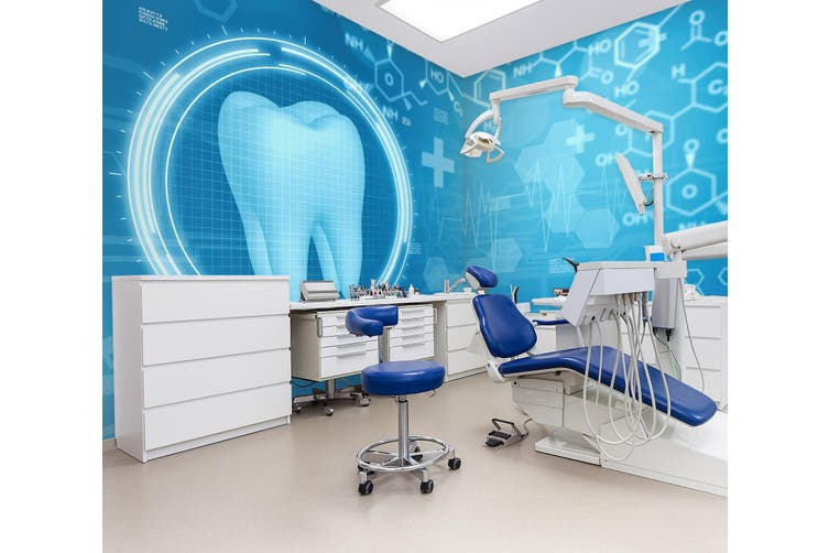 3D Dental Examination 331 Wall Murals Wallpaper Murals Woven paper (need glue), XXXL 416cm x 254cm (WxH)(164''x100'')