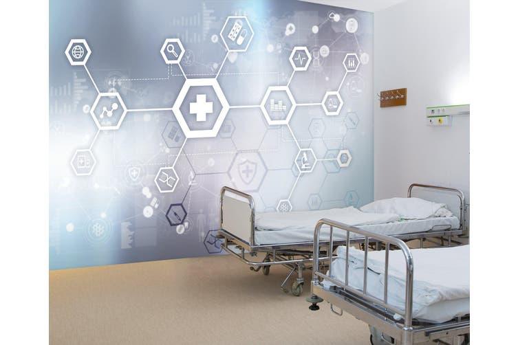 3D Online Medical 330 Wall Murals Wallpaper Murals Woven paper (need glue), XXXL 416cm x 254cm (WxH)(164''x100'')