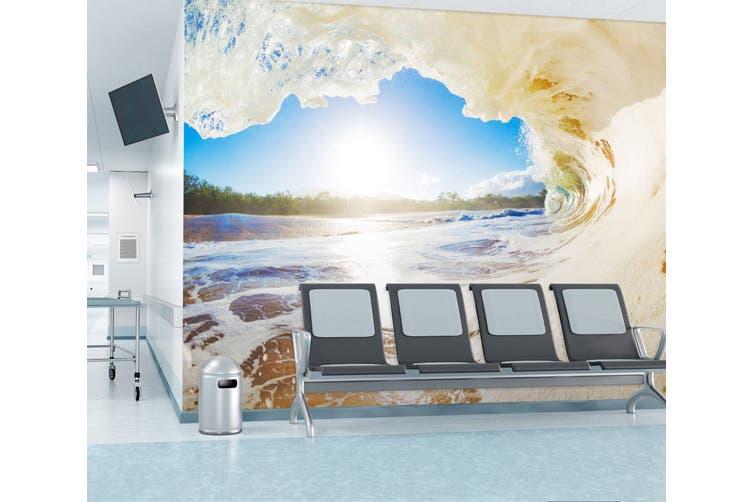 3D Ocean Wave 324 Wall Murals Wallpaper Murals Self-adhesive Vinyl, XXL 312cm x 219cm (WxH)(123''x87'')