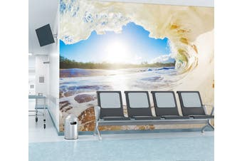 3D Ocean Wave 324 Wall Murals Wallpaper Murals Self-adhesive Vinyl, XXXL 416cm x 254cm (WxH)(164''x100'')