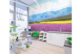 3D Mountain Lavender 315 Wall Murals Wallpaper Murals Woven paper (need glue), XXL 312cm x 219cm (WxH)(123''x87'')