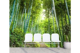 3D Bamboo Forest 309 Wall Murals Wallpaper Murals Woven paper (need glue), XXXL 416cm x 254cm (WxH)(164''x100'')