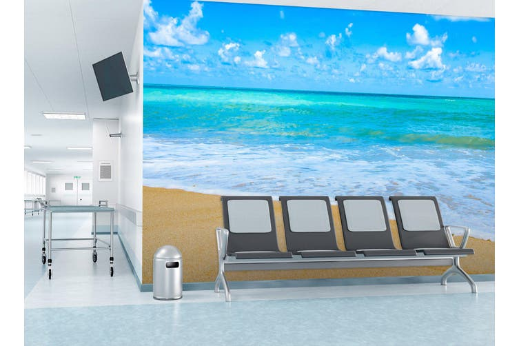 3D Sea Beach Beautiful 307 Wall Murals Wallpaper Murals Self-adhesive Vinyl, XL 208cm x 146cm (WxH)(82''x58'')