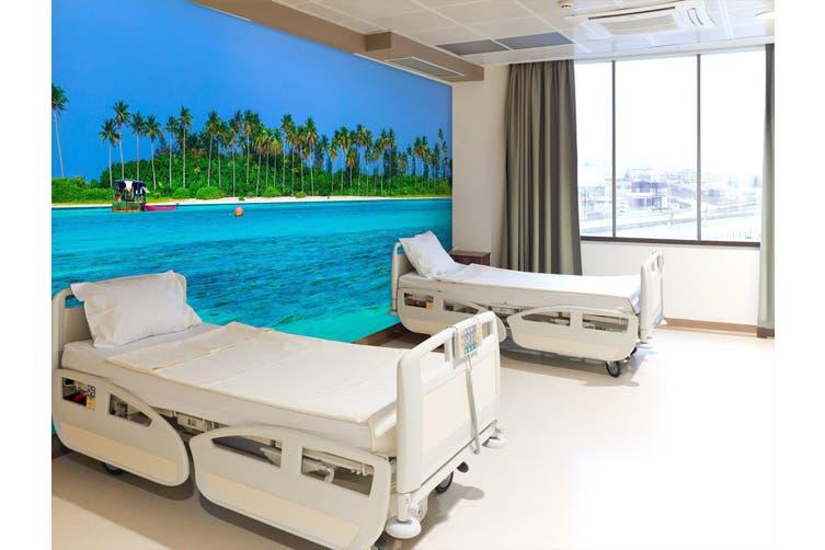 3D Amazing White Beaches 305 Wall Murals Wallpaper Murals Woven paper (need glue), XXXL 416cm x 254cm (WxH)(164''x100'')