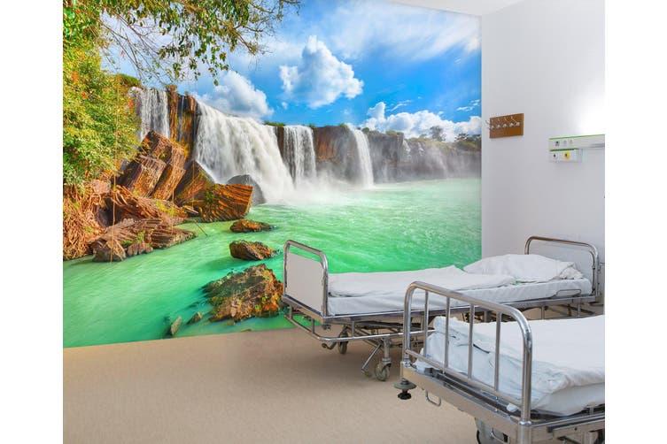 3D Fierce Waterfall 304 Wall Murals Wallpaper Murals Self-adhesive Vinyl, XXXXL 520cm x 290cm (WxH)(205''x114'')