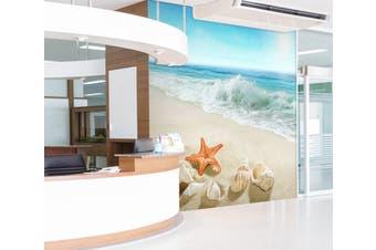 3D Surf Starfish 300 Wall Murals Wallpaper Murals Woven paper (need glue), XXXL 416cm x 254cm (WxH)(164''x100'')