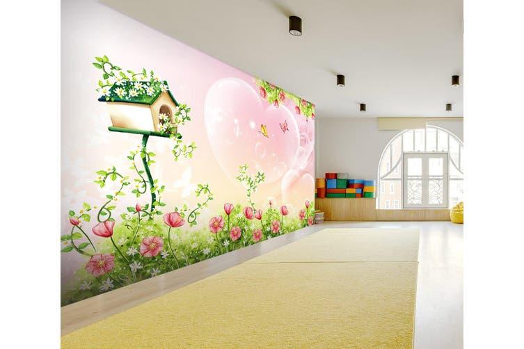 3D Cartoon Mailbox 294 Wall Murals Wallpaper Murals Woven paper (need glue), XXXXL 520cm x 290cm (WxH)(205''x114'')
