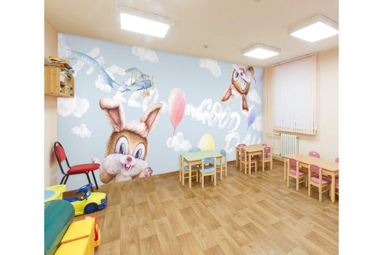 3D Squirrel Balloon 290 Wall Murals Wallpaper Murals Self-adhesive Vinyl, XXXXL 520cm x 290cm (WxH)(205''x114'')