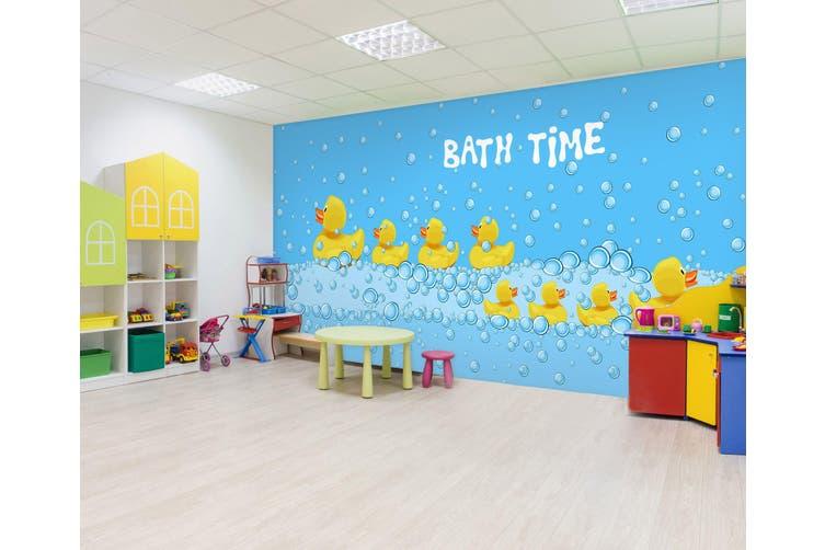 3D Bubble Duck 289 Wall Murals Wallpaper Murals Self-adhesive Vinyl, XXXXL 520cm x 290cm (WxH)(205''x114'')