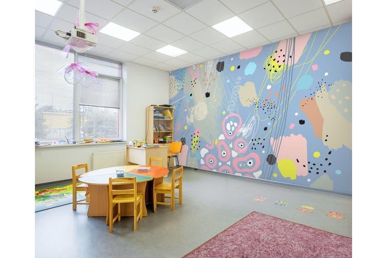 3D Color Graffiti 284 Wall Murals Wallpaper Murals Woven paper (need glue), XXXXL 520cm x 290cm (WxH)(205''x114'')