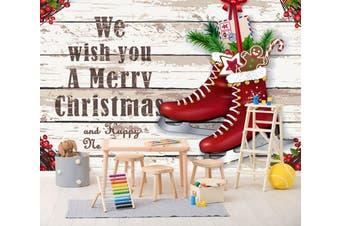 3D Christmas Gift 282 Wall Murals Wallpaper Murals Woven paper (need glue), XXL 312cm x 219cm (WxH)(123''x87'')