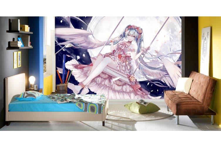 3D Hatsune Miku 759 Anime Wall Murals Self-adhesive Vinyl, XXL 312cm x 219cm (WxH)(123''x87'')