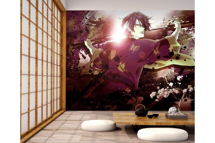 3D GinTama 749 Anime Wall Murals Woven paper (need glue), XXXXL 520cm x 290cm (WxH)(205''x114'')