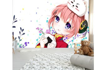3D GinTama 746 Anime Wall Murals Woven paper (need glue), XL 208cm x 146cm (WxH)(82''x58'')