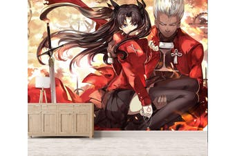 3D Fate Stay Night 740 Anime Wall Murals Woven paper (need glue), XL 208cm x 146cm (WxH)(82''x58'')