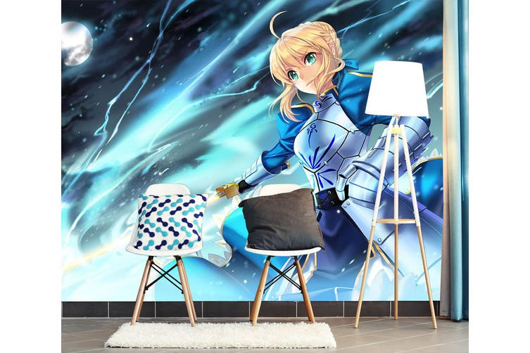 3D Fate Stay Night 739 Anime Wall Murals Woven paper (need glue), XXXXL 520cm x 290cm (WxH)(205''x114'')