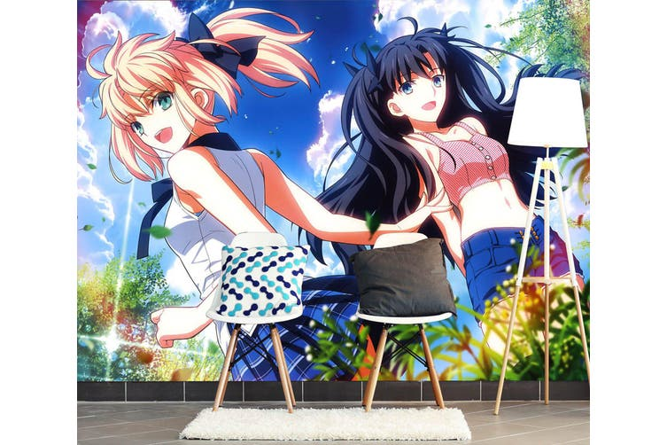 3D Fate Stay Night 737 Anime Wall Murals Woven paper (need glue), XL 208cm x 146cm (WxH)(82''x58'')