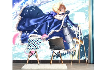 3D Fate Stay Night 736 Anime Wall Murals Woven paper (need glue), XL 208cm x 146cm (WxH)(82''x58'')