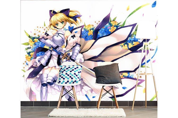 3D Fate Stay Night 734 Anime Wall Murals Woven paper (need glue), XXXXL 520cm x 290cm (WxH)(205''x114'')