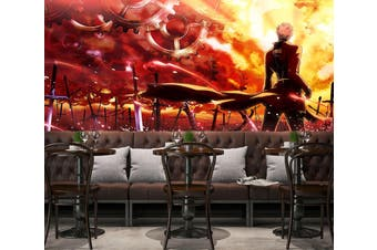 3D Fate Stay Night 733 Anime Wall Murals Woven paper (need glue), XXXXL 520cm x 290cm (WxH)(205''x114'')
