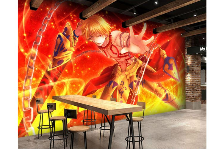 3D Fate Stay Night 732 Anime Wall Murals Woven paper (need glue), XL 208cm x 146cm (WxH)(82''x58'')