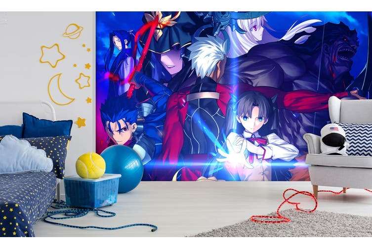 3D Fate Stay Night 729 Anime Wall Murals Self-adhesive Vinyl, XXL 312cm x 219cm (WxH)(123''x87'')