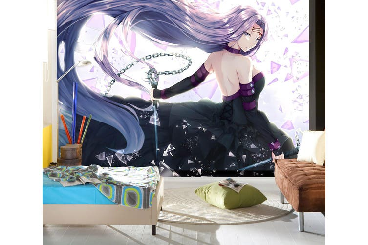 3D Fate Stay Night 723 Anime Wall Murals Self-adhesive Vinyl, XL 208cm x 146cm (WxH)(82''x58'')