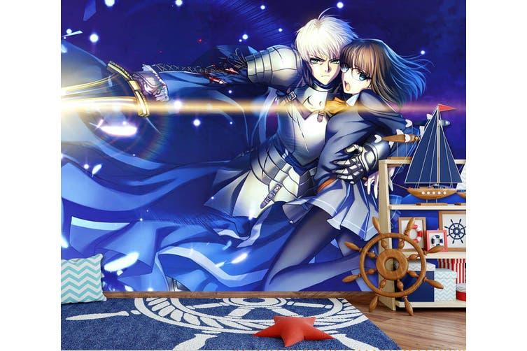 3D Fate Stay Night 719 Anime Wall Murals Woven paper (need glue), XXL 312cm x 219cm (WxH)(123''x87'')