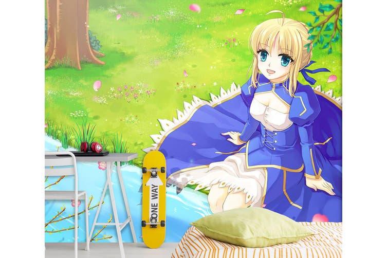 3D Fate Stay Night 718 Anime Wall Murals Woven paper (need glue), XXL 312cm x 219cm (WxH)(123''x87'')