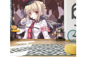 3D Fate Stay Night 716 Anime Wall Murals Woven paper (need glue), XL 208cm x 146cm (WxH)(82''x58'')