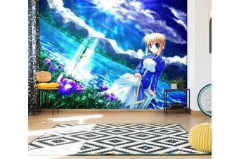 3D Fate Stay Night 715 Anime Wall Murals Self-adhesive Vinyl, XL 208cm x 146cm (WxH)(82''x58'')