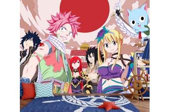3D Fairy Tail 712 Anime Wall Murals Woven paper (need glue), XL 208cm x 146cm (WxH)(82''x58'')