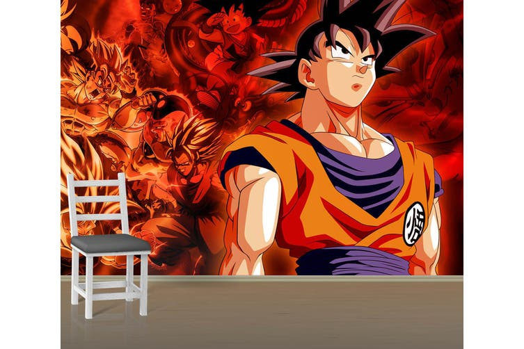 3D Dragon Ball 707 Anime Wall Murals Self-adhesive Vinyl, XL 208cm x 146cm (WxH)(82''x58'')