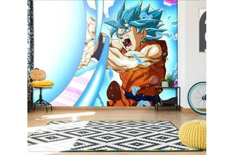 3D Dragon Ball 705 Anime Wall Murals Woven paper (need glue), XL 208cm x 146cm (WxH)(82''x58'')