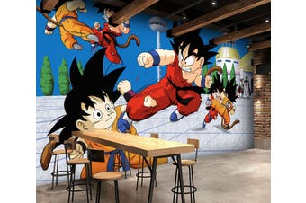 3D Dragon Ball 703 Anime Wall Murals Self-adhesive Vinyl, XL 208cm x 146cm (WxH)(82''x58'')