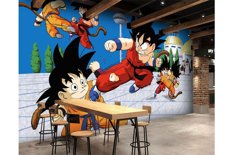 3D Dragon Ball 703 Anime Wall Murals Self-adhesive Vinyl, XXXL 416cm x 254cm (WxH)(164''x100'')