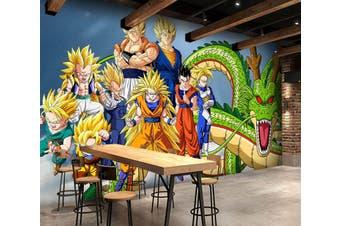 3D Dragon Ball 704 Anime Wall Murals Woven paper (need glue), XL 208cm x 146cm (WxH)(82''x58'')
