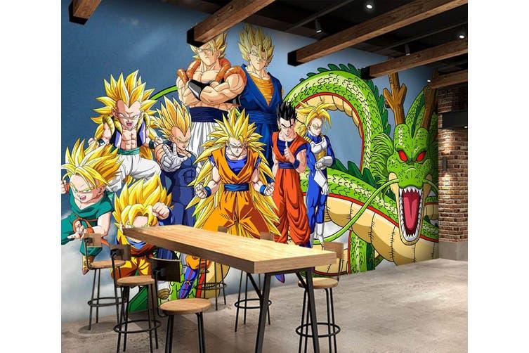 3D Dragon Ball 704 Anime Wall Murals Self-adhesive Vinyl, XL 208cm x 146cm (WxH)(82''x58'')