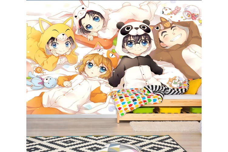 3D Detective Conan 699 Anime Wall Murals Woven paper (need glue), XXXL 416cm x 254cm (WxH)(164''x100'')