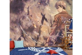 3D Attack On Titan 667 Anime Wall Murals Woven paper (need glue), XXXL 416cm x 254cm (WxH)(164''x100'')