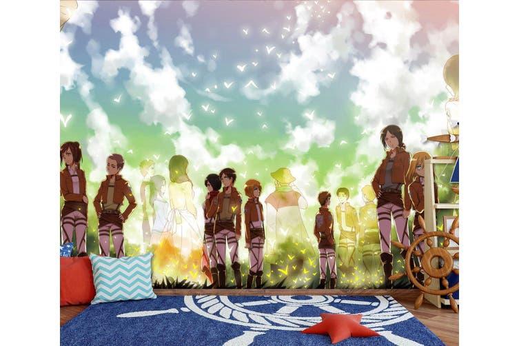 3D Attack On Titan 668 Anime Wall Murals Woven paper (need glue), XXXL 416cm x 254cm (WxH)(164''x100'')