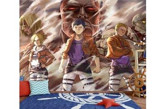 3D Attack On Titan 671 Anime Wall Murals Woven paper (need glue), XXL 312cm x 219cm (WxH)(123''x87'')