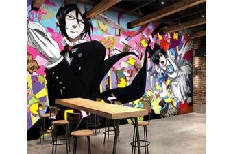 3D Black Butler 679 Anime Wall Murals Woven paper (need glue), XL 208cm x 146cm (WxH)(82''x58'')
