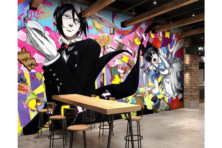 3D Black Butler 679 Anime Wall Murals Self-adhesive Vinyl, XXXL 416cm x 254cm (WxH)(164''x100'')