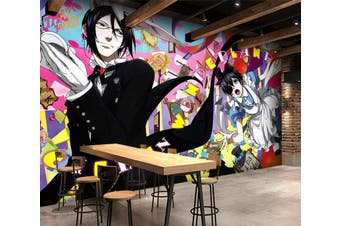 3D Black Butler 679 Anime Wall Murals Self-adhesive Vinyl, XXXXL 520cm x 290cm (WxH)(205''x114'')
